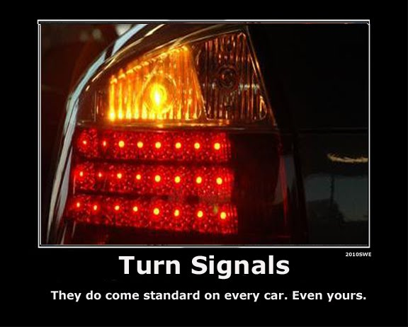 Good Writers (and Drivers) Use a Turn Signal