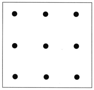 Thinking Outside The Box Nine Dots Puzzle