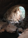 Tonto Natural Bridge State Park, or what traveling does for writers