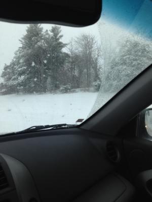 Blizzard 2016 I-75 North Kentucky