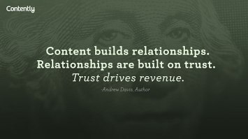Andrew Davis Quote on Content Marketing