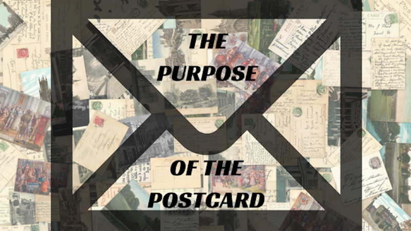 The Purpose of the Postcard Blog Post via KLWightman.com