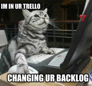 Trello Cat Meme