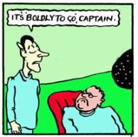 Split Infinitives Star Trek Cartoon