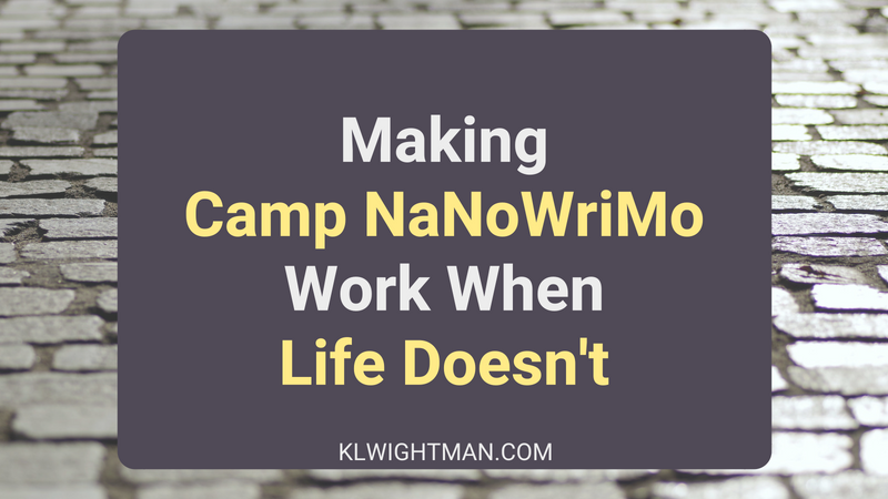 Making Camp NaNoWriMo Work When Life Doesn't via KLWightman.com